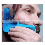 HOT Comb Bro Beard Shaping Sex Man Gentleman Shaving Brush Trim Template Hair Cut Molding Trim Template Beard Modelling Tool