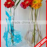 beautiful foldable flower vase for business gift