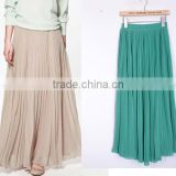 Customer Made European American Lady Long Maxi Skirt Chevron Skirt (LCHSK8)