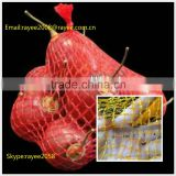 Small net plastic mesh bag roll,packing garlic mesh bag ,malla de polietileno en rollos