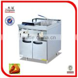 28L*2 Free Standing Stainless Steel Gas Deep Fryer GF-785