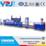 New design PET pp plastic strapping band making machine straps production line with PLC control system