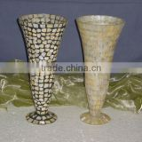 Mosaic Glass Flower Vases,Large Flower Vase,Glass Flower Vase