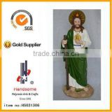 religious crafts resin saint Jude statue Custom religious crafts resin saint Jude figurine