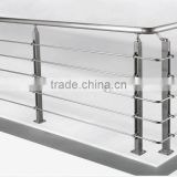 Building Project stair railing stainless steel indoor railing