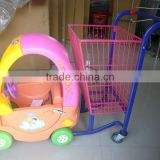 (supermarket equipment) power-operated baby shopping trolley car