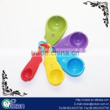 Plastic Fish shape Measuring Spoon Measuring Cup Set for Measuring Dry and Liquid Ingredients