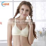 HSZ-2247 Free Panties Sample Stylish Lingerie Cotton Ladies Comfortable Underwear New Style Women Sexy Fancy Hot Bra And Panty