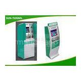 Lobby Type Self Service Check In Kiosk Network Interface Easy Maintenance
