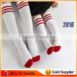 Fashion Middle Long School Boy Grils School Socks White And Black Color Cotton Children Socks New Boy Child Tube Socks