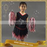Cheerleader Costume set w/Pom Pom for girls Halloween Dresses