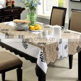 table cloth waterproof made in china pvc different colors wholesale price from factory custom tablecloth