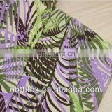 100% linen fabric printed