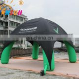 Professional advertising promotion trade show booth spider dome inflatable tent with high quality