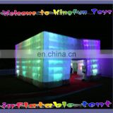 Sale Lighting inflatable building with LED