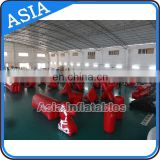 Inflatable Barriers For Archery Tag / Outdoor Air Tight Paintball Bunker In Inflatable Field