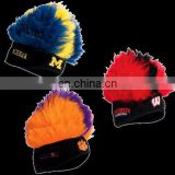 Fashion sport headband wig sport wig team wig