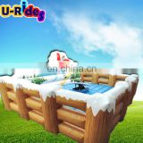 Cheap Hot Durable Inflatable Mechanical Snowboard Surf Simulator Ride Games