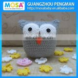 Amigurumi Crochet Boys Stuffed Doll Crochet Baby OWL Doll
