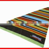 Customized cotton assorted color stripe print triangle doggie bandana striped triangle bandana wholesale dog bandanas