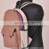Women Fashionable Carry Hemp Backpack HBB 0002