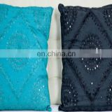 New Deign 2017 Luxury Unique Handmde Design Indian Cushion Cover