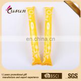 eco printed PE inflatable flashing cheering stick wholesales manufacturer