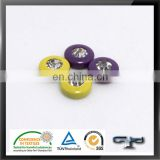 colorful metal rhinestone rivet