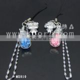 Disco ball mobile phone strap MX010