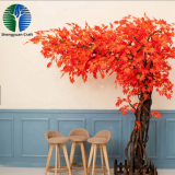 beautiful maple tree oem colorful factory price for decoration new products
