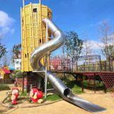 Outdoor Playground Stainless Steel Slide Tube Metal Slide for Park