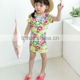 Girls Baby Kids grils dresses Toddlers knitted cotton flower Polka Dot Bowknot Dress Clothes