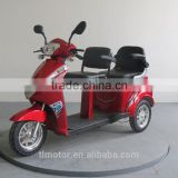 600w 60v adults used double seat electric mobility tricycle