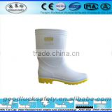 wholesale white rain boots for food industry work boots