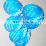 Eco-friendly Printed Personalized Paper Hanging Tags / Ribbon String Tags , Customized Logo and Size