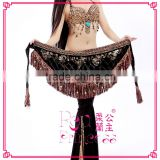 New style belly dance hip scarf, belly dance tribal style belt