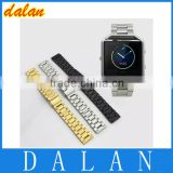 High quality link Bracelet Band For Fitbit Blaze Smart Fitness Watch Strap Stailess Steel