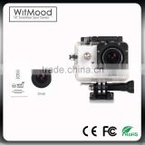 Super Slim Ultra HD1080P 4K Video Sports Camera 170 degrees Wide Angle WiFi Sport Action Camera