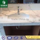 Statuari marble solid surface wash hand basin bathroom marble counter top wash basin                                                                         Quality Choice