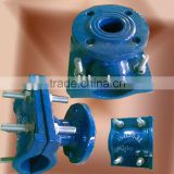 Ductile cast iron pipe fitting saddle for DI pipe joint