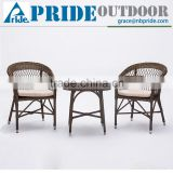 Rattan Wicker Balcony Hotel Luxury Bedroom Patio Office Outdoor Garden Living Room Furniture Set
