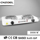 Cnzidel double 2000w electric cooking range brands