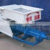 high efficiency mortar plastering machine