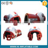 Fantasty Inflatable Football Helmet Tunnel/Inflatable football helmet tunnel /inflatable football tunnel tent