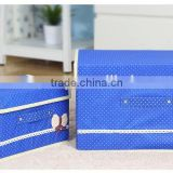 Homey Non woven foldable storage box with transparent PVC window,home decorate,homeware,decorative storage boxes