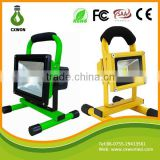 Convenience portable lighting outside 5W 8H li-Ion rechargeable led flood light