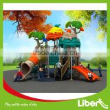 European Standard Newest Design Plastic Type Outdoor Jungle Gym, Backyard Garden Playset for Children