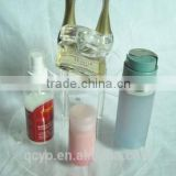 alibaba express square transparent facial mist display holder