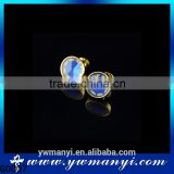Custom high grade cufflink shirt plated gold cufflinks for men shirt G0007