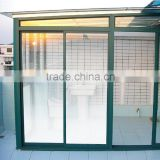 wholesale new product white stripe gradation window film, PET explosion proofing decorative film similar to 3m film